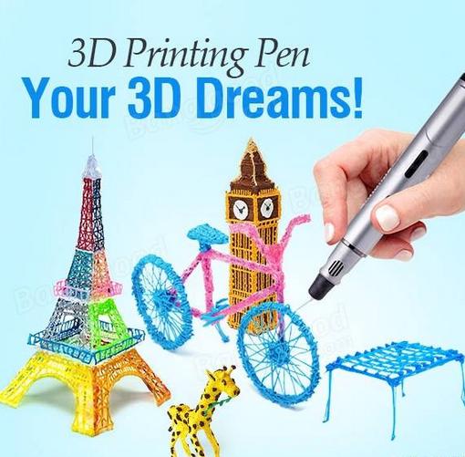 3rd Gen 3D Printing Pen