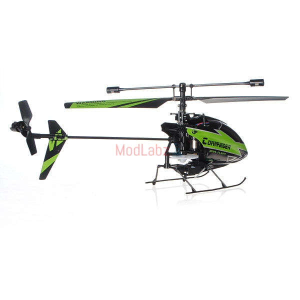 WLtoys V911-1 2 4G 4CH RC Helicopter New Plug Green BNF • ModLabz