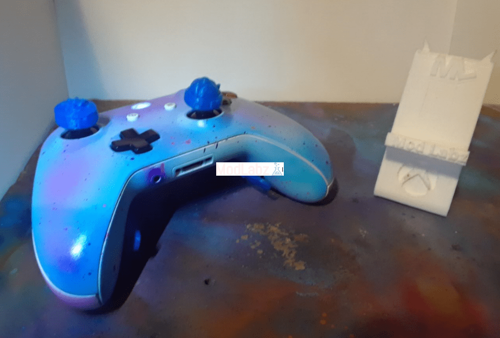 ModLabz Xbox One S Controller Remapped A,B Mod Cotton Candy Ed • ModLabz